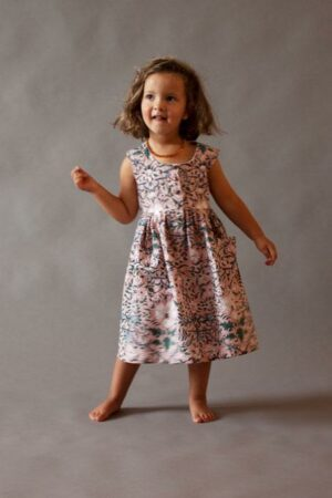 Pink Ampola Bow Dress
