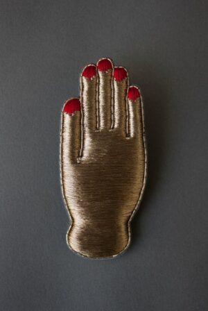 Nail Polish Hand Charm